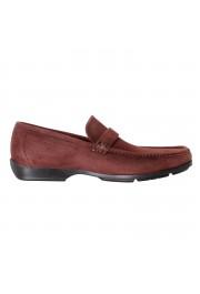 "Salvatore Ferragamo Men's ""GEROLAMO 5"" Brown Suede Leather Loafers Shoes: Picture 5"