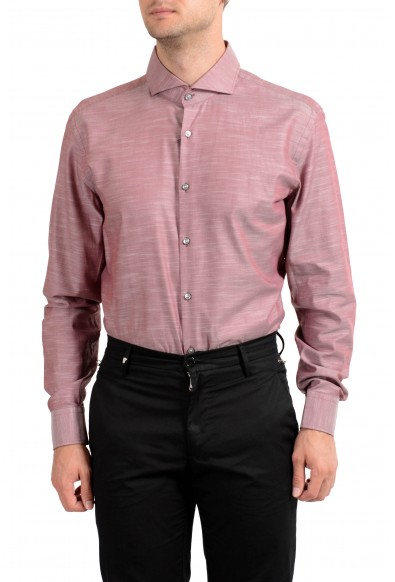 "Hugo Boss Men's ""Dwayne"" Slim Fit Purplish Long Sleeve Dress Shirt : Picture 2"