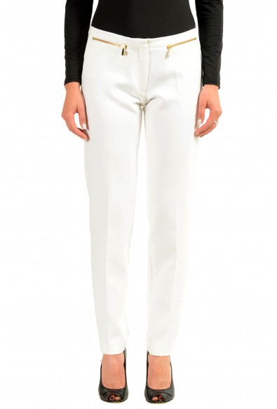 Versace Collection White Women's Casual Pants