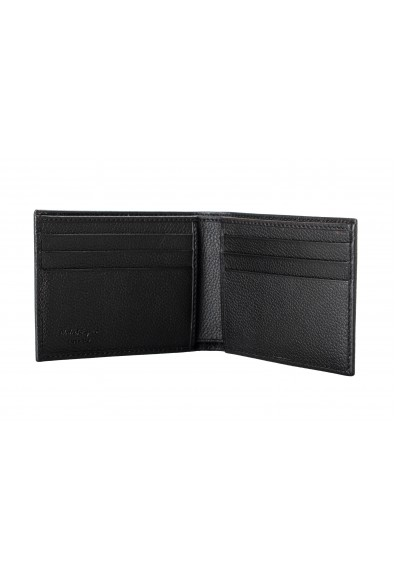 Salvatore Ferragamo Men's Dark Brown 100% Pebbled Leather Bifold Wallet: Picture 2