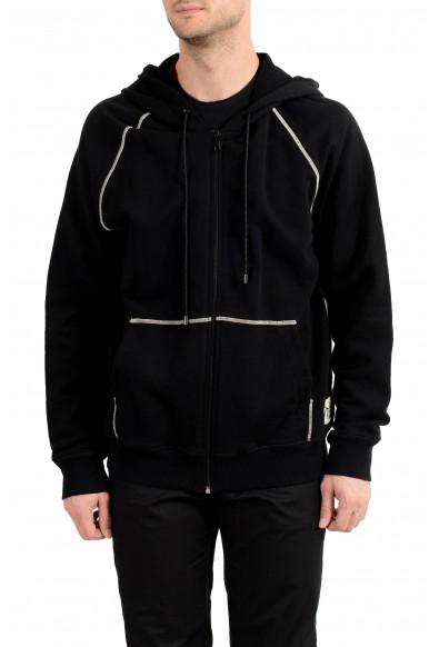 Marc Jacobs Men's Black Full Zip Hooded Track Jacket