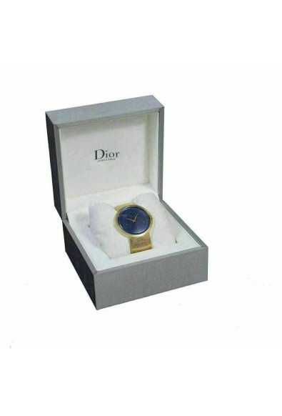 Christian Dior La D De Dior Lapiz Lazuri Dial Solid Swiss Gold Watch: Picture 2
