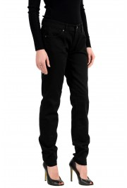 Burberry London Women's Black Low Rise Skinny Stretch Jeans: Picture 2