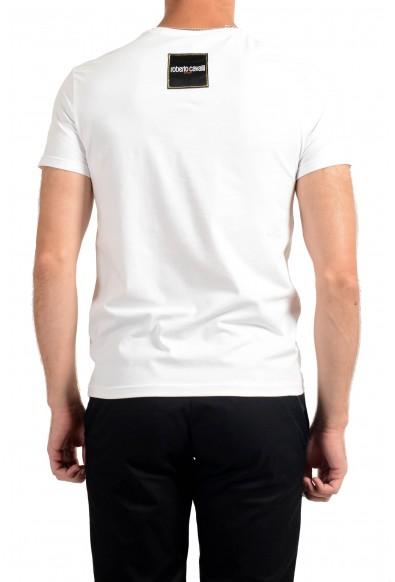 "Roberto Cavalli ""SPORT"" Men's White Stretch T-Shirt  : Picture 2"