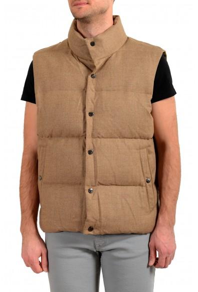 """Hugo Boss /""""Ciro/"""" Men/'s Blue Button Up Vest US S IT 48"""