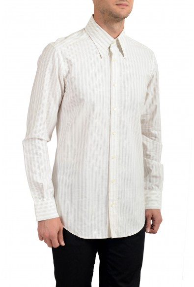 Dolce&Gabbana Men's Striped Slim Long Sleeve Dress Shirt
