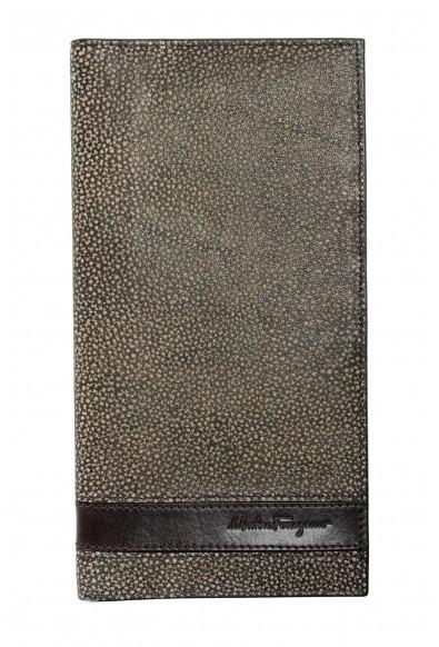 Salvatore Ferragamo Men's 100% Pebbled Leather Bifold Wallet