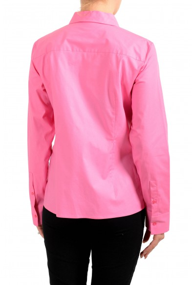 """Hugo Boss Women's """"Banew3"""" Pink Long Sleeve Button Down Blouse Top: Picture 2"""