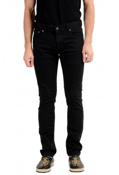Roberto Cavalli Men's Black Stretch Skinny Jeans
