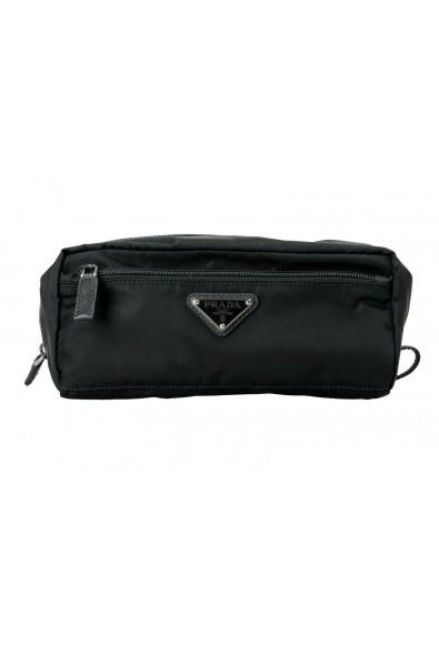 Prada Black Unisex Cosmetic Bag