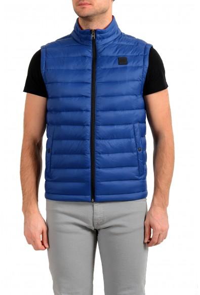 """Hugo Boss """"Chroma"""" Men's Royal Blue Down Full Zip Vest"""