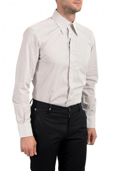 Dolce&Gabbana Men's Slim Striped Long Sleeve Dress Shirt : Picture 2