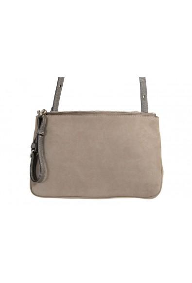 Maison Margiela 11 100% Leather Gray Crossbody Women's Clutch Bag: Picture 2