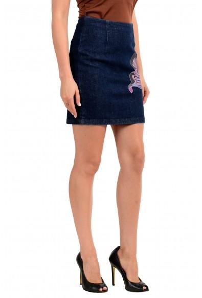 Versus by Versace Women's Denim Pencil Skirt : Picture 2