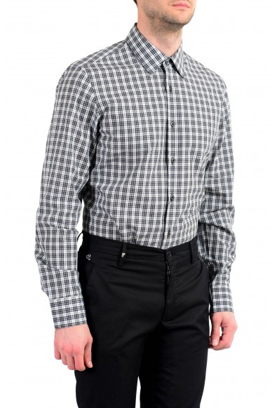 Prada Men's Plaid Long Sleeve Button Down Dress Shirt: Picture 2