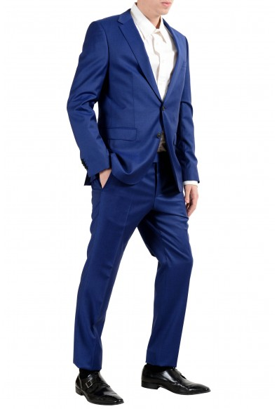"Hugo Boss ""Nestro3/Byte1"" Men's 100% Wool Blue Two Button Suit: Picture 2"