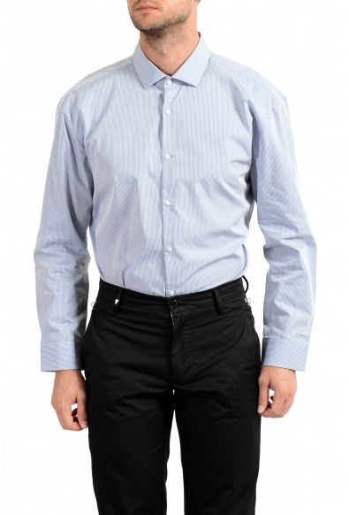 "Hugo Boss Men's ""EastonX"" Slim Fit Striped Long Sleeve Dress Shirt : Picture 2"