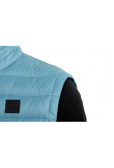 """Hugo Boss """"Chroma"""" Men's Teal Blue Down Full Zip Vest: Picture 2"""