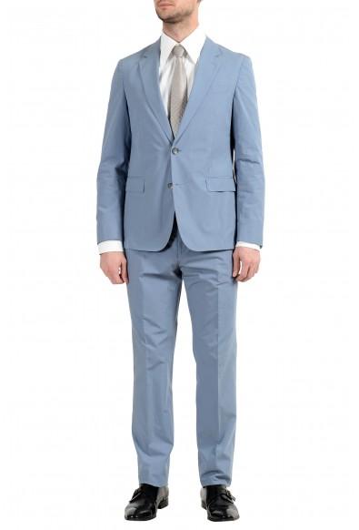 "Hugo Boss ""Nylen1/Pery1"" Men's Slim Blue Two Button Suit"