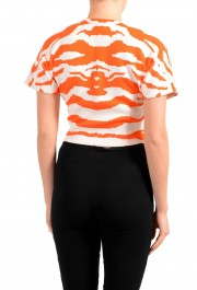 Just Cavalli Women's Multi-Color Cropped Sweater Top : Picture 4