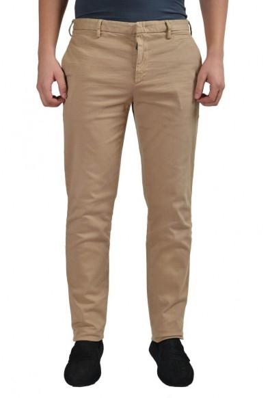 Prada Men's Beige Khaki Casual Pants