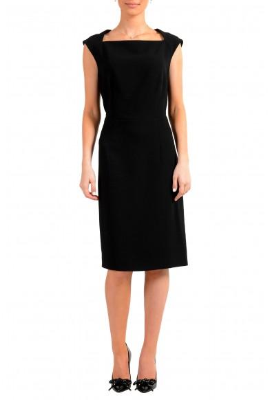 "Hugo Boss Women's ""Dekala1"" Black Sleeveless Pencil Dress"
