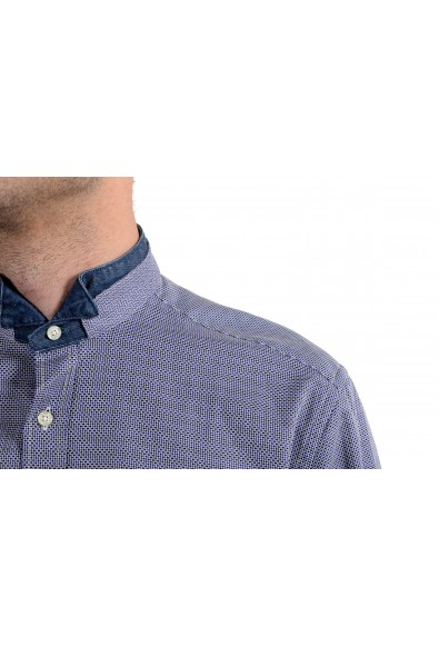 Etro Men's Blue Long Sleeve Dress Shirt: Picture 2