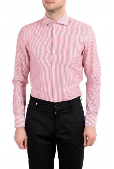 "Hugo Boss ""Jason"" Men's Striped Slim Long Sleeve Dress Shirt: Picture 2"