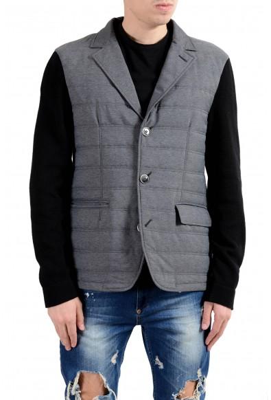 Bogner Men's Wool Lightly Insulated Three Button Blazer Sport Coat
