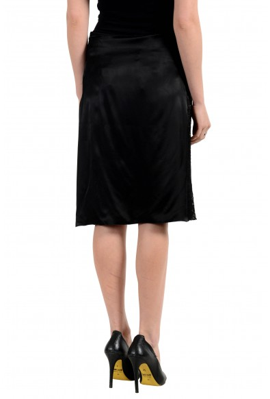 Versace Jeans Couture Women's Black A-Line Skirt: Picture 2