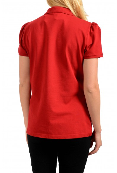 Burberry Women's Red Short Sleeves Polo Shirt : Picture 2
