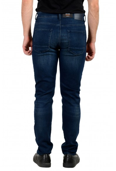 """Hugo Boss Men's """"Taber BC-P"""" Tapered Fit Blue Stretch Jeans: Picture 2"""