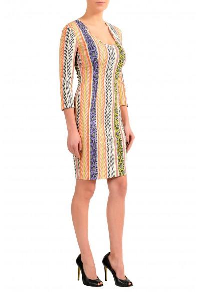 Just Cavalli Multi-Color Stretch Bodycon Women's Dress: Picture 2