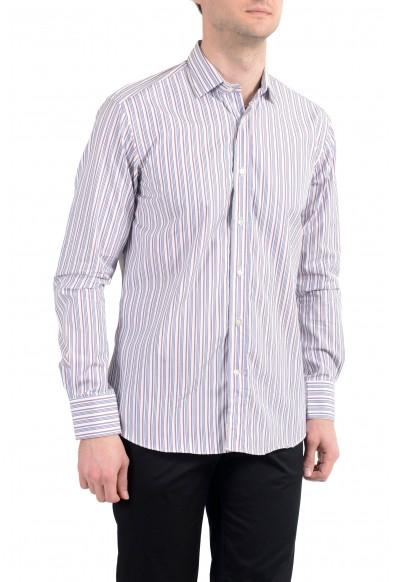 Etro Men's Multi-Color Striped Long Sleeve Dress Shirt