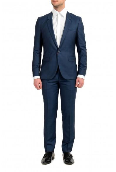 "Hugo Boss ""Arti/Hesten191E4"" Men's 100% Wool Extra Slim One Button Suit"