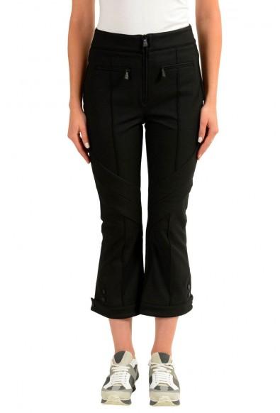 Moncler Women's Black Winter Cropped Pants