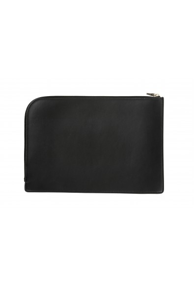 Versace Women's Black Leather Handbag Clutch: Picture 2