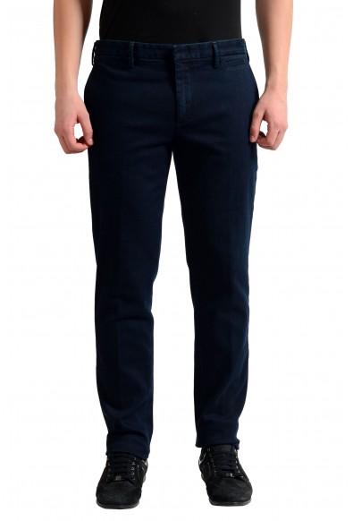 Prada Men's Dark Blue Denim Casual Pants