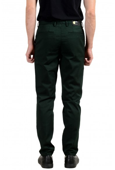 """Hugo Boss """"Kaito1"""" Men's Green Slim Tapered Stretch Casual Pants : Picture 2"""