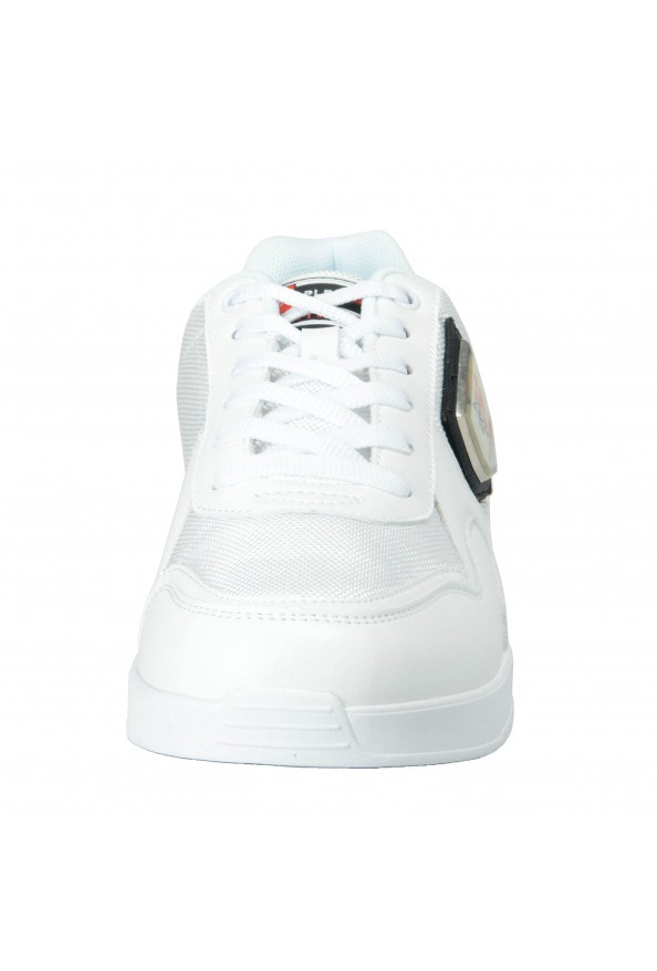 """Plein Sport """"Unseld"""" White Fashion Sneakers Shoes: Picture 7"""