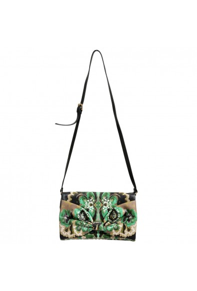Red Valentino Women's Multi-Color Bow Decorated Clutch Shoulder Bag
