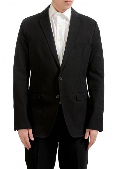 Dolce & Gabbana Men's Black Plaid Blazer Sport Coat
