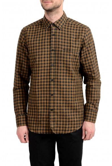 """Hugo Boss """"Relegant"""" Men's Regular Fit Linen Long Sleeve Casual Shirt"""