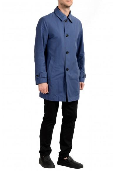 """Hugo Boss Men's """"Dain"""" Blue Trench Coat : Picture 2"""