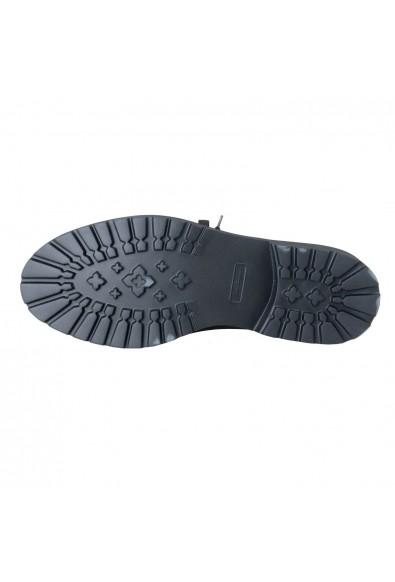 """Salvatore Ferragamo """"Forest"""" Men's Two Tones Lace Up Ankle Rainboots Shoes: Picture 2"""