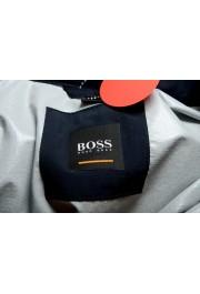 "Hugo Boss ""Okroos"" Men's 1/2 Zip Multi-Color Hooded Windbreaker Jacket: Picture 5"