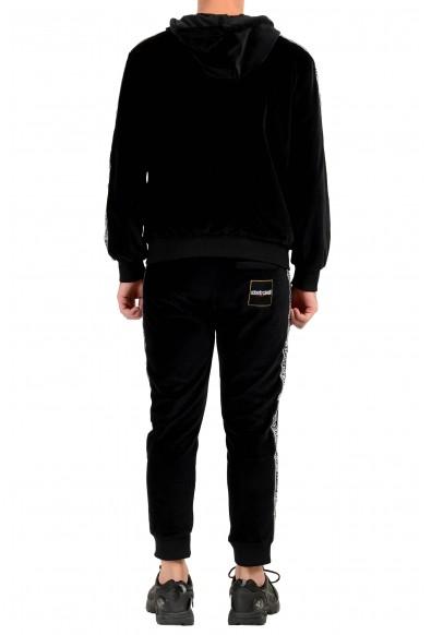 "Roberto Cavalli ""Sport"" Men's Black Velour Hooded Full Zip Track Suit: Picture 2"