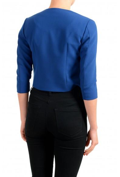 "Hugo Boss Women's ""Jikiva"" Royal Blue Buttonless Blazer: Picture 2"