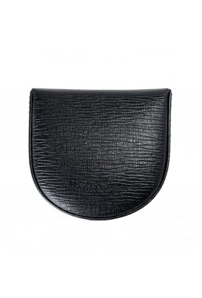 Salvatore Ferragamo Women's Black Pebbled Small Coin Wallet