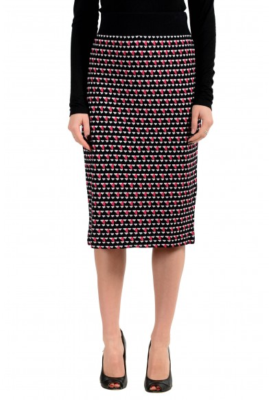 "Hugo Boss Women's ""Estane"" Multi-Color Stretch Pencil Skirt"